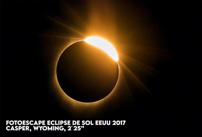 FOTOESCAPE `ECLIPSE SOLAR PATAGONIA, ARGENTINA`